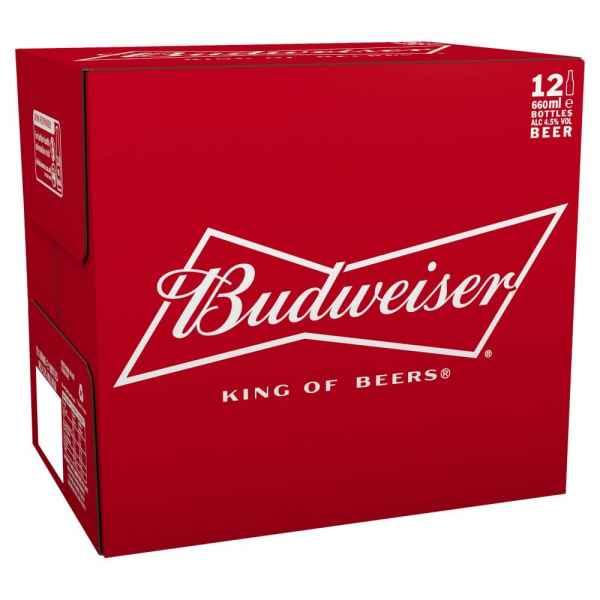 Budweiser Beer 12 x 660ml