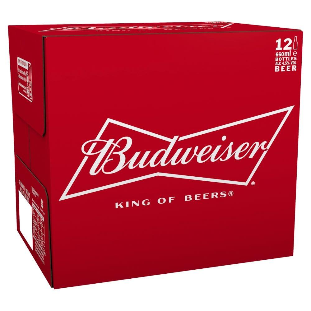 Budweiser Beer 12 x 300ml