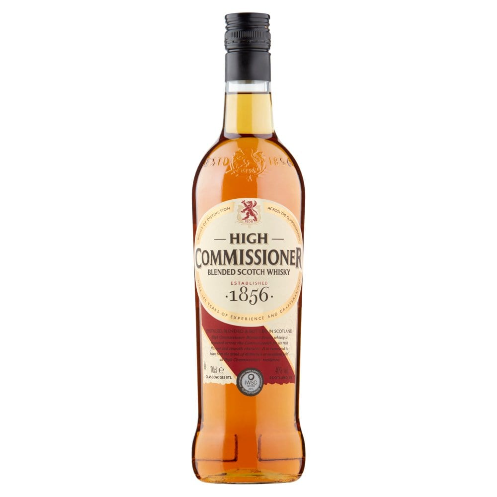 High Commissioner Blended Scotch Whisky 70cl PMP