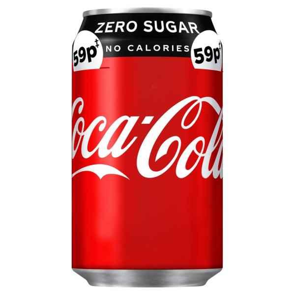 Coca-Cola Zero Sugar 330ml PMP