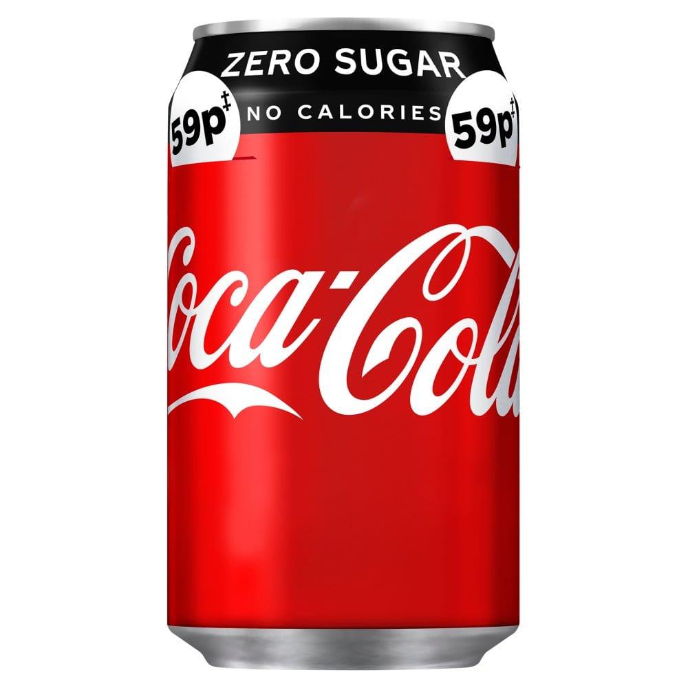 Coca-Cola Zero Sugar 330ml PM