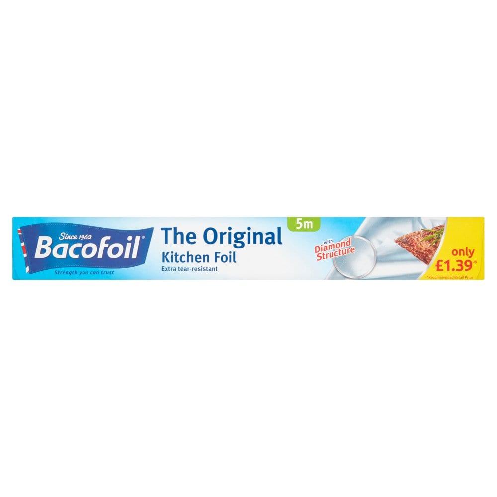Bacofoil Kitchen Foil 30cm x 5m PM