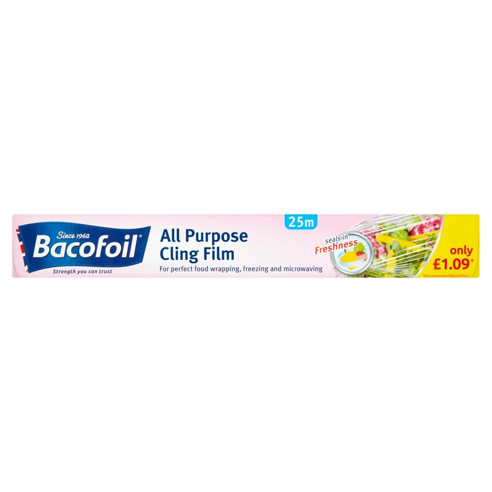 Bacofoil All Purpose Cling Film 30cm x 25m PMP