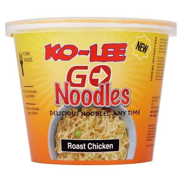 Ko-Lee Go Noodles Roast Chicken 65g