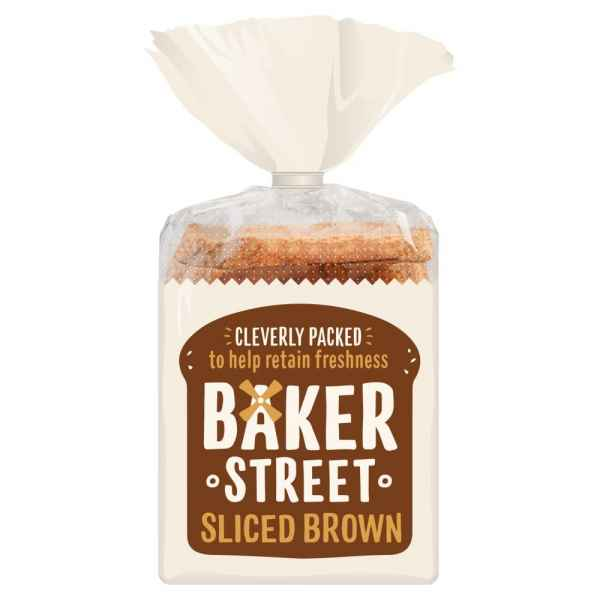 Baker Street Sliced Brown 600g