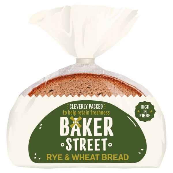 Baker Street Rye & Wheat Bread 500g