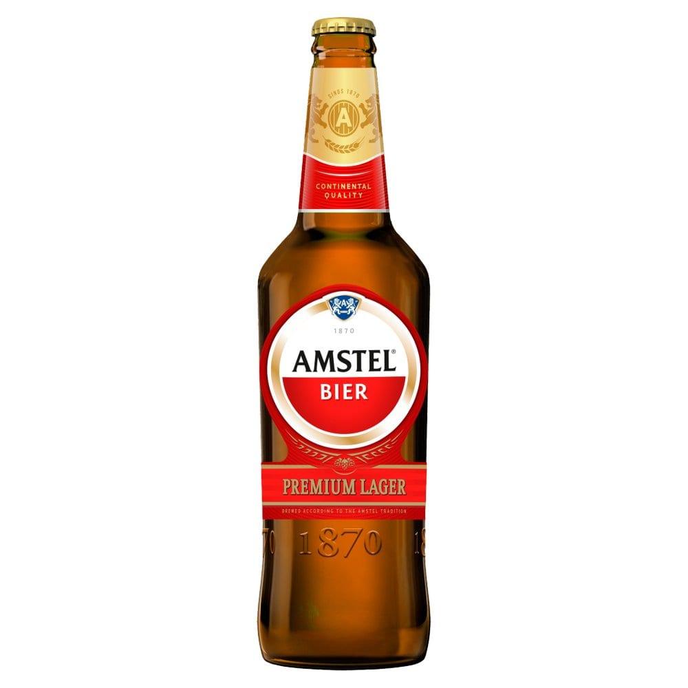Amstel Lager Beer 650ml Bottle