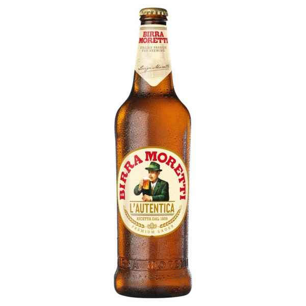 Birra Moretti Lager Beer 660ml Bottle
