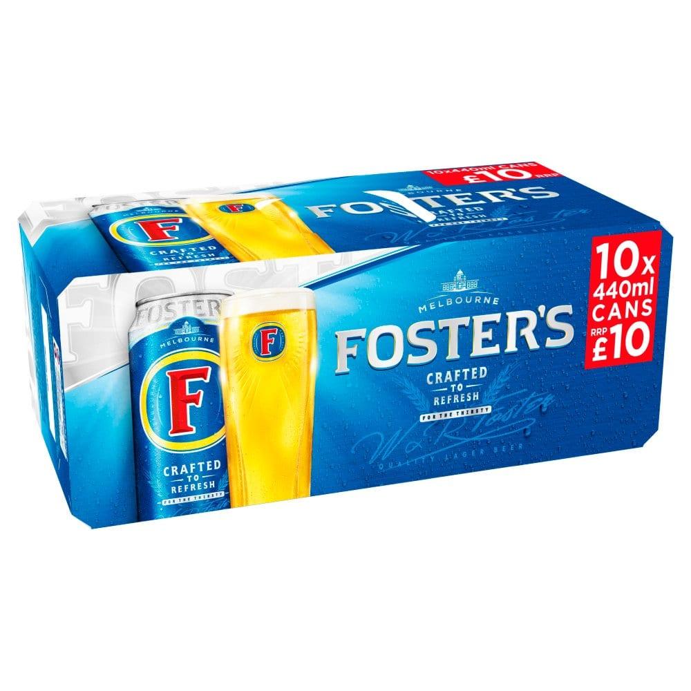 Foster's 10 x 440ml