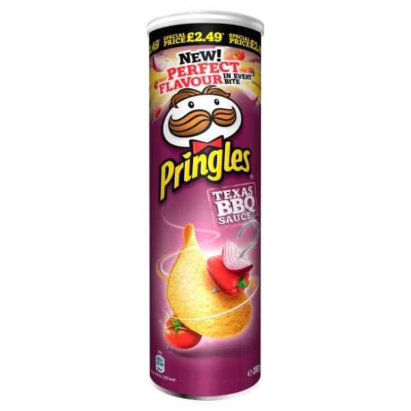 Pringles Texas BBQ Sauce Crisps 200g