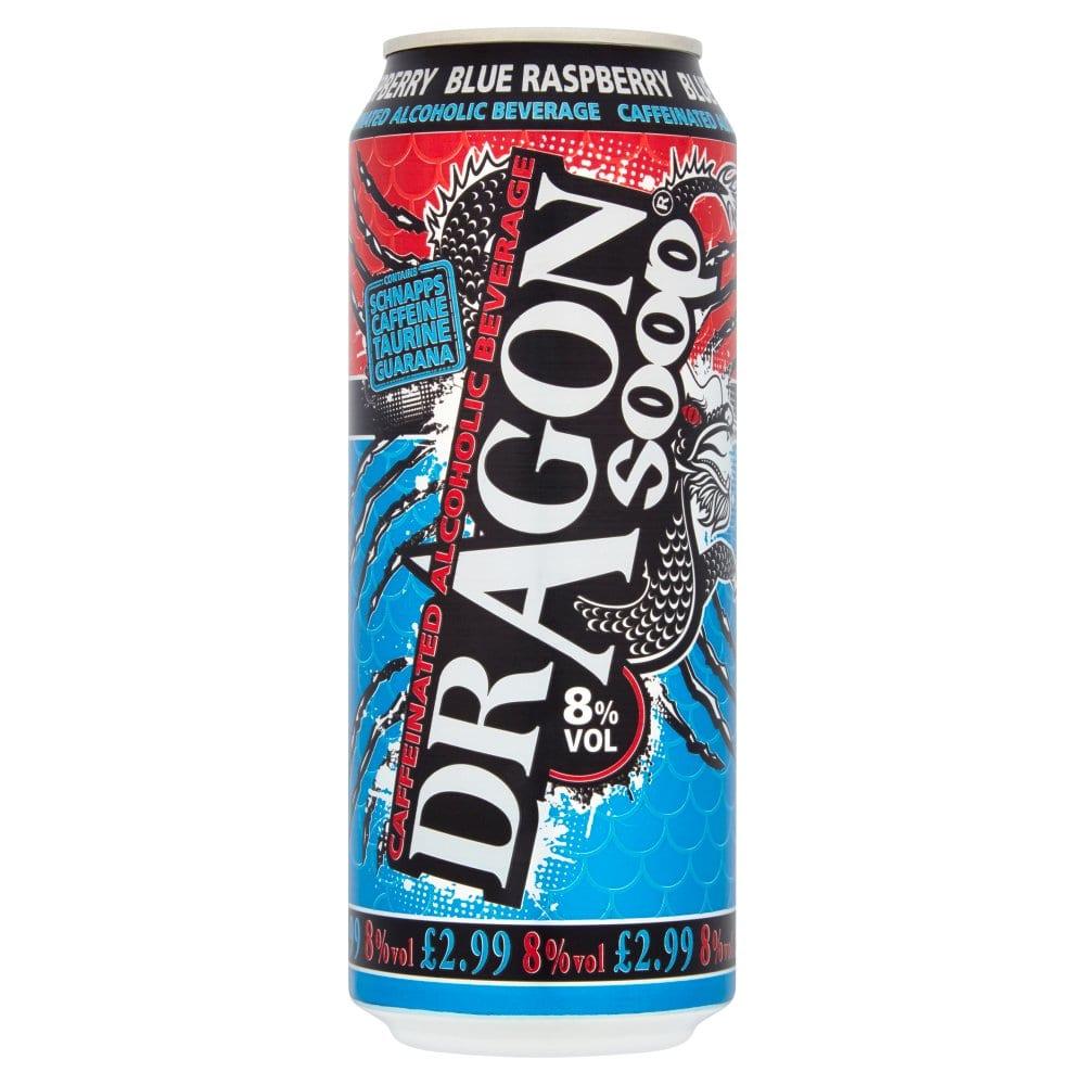 Dragon Soop Blue Raspberry 500ml
