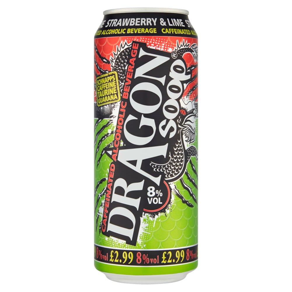 Dragon Soop Strawberry & Lime 500ml