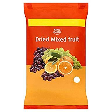 Happy Shopper Dried Mixed Fruit 375g