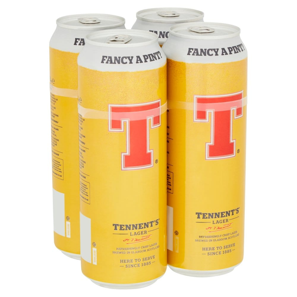 Tennent's Lager 4 x 568ml