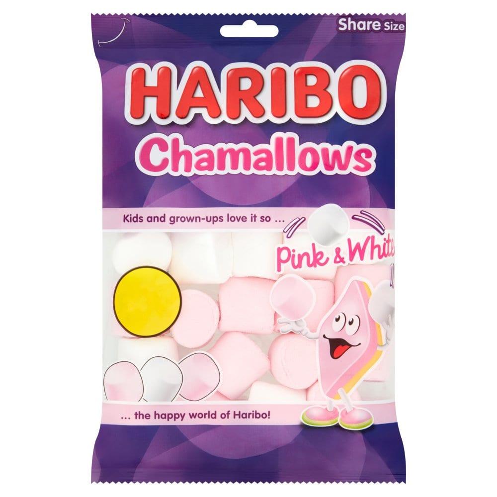 Haribo Chamallows Pink & White Bag 160g PM