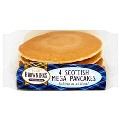 Brownings The Bakers 4 Scottish Mega Pancakes