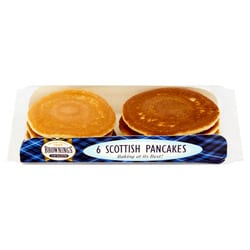 Brownings The Bakers 6 Scottish Pancakes