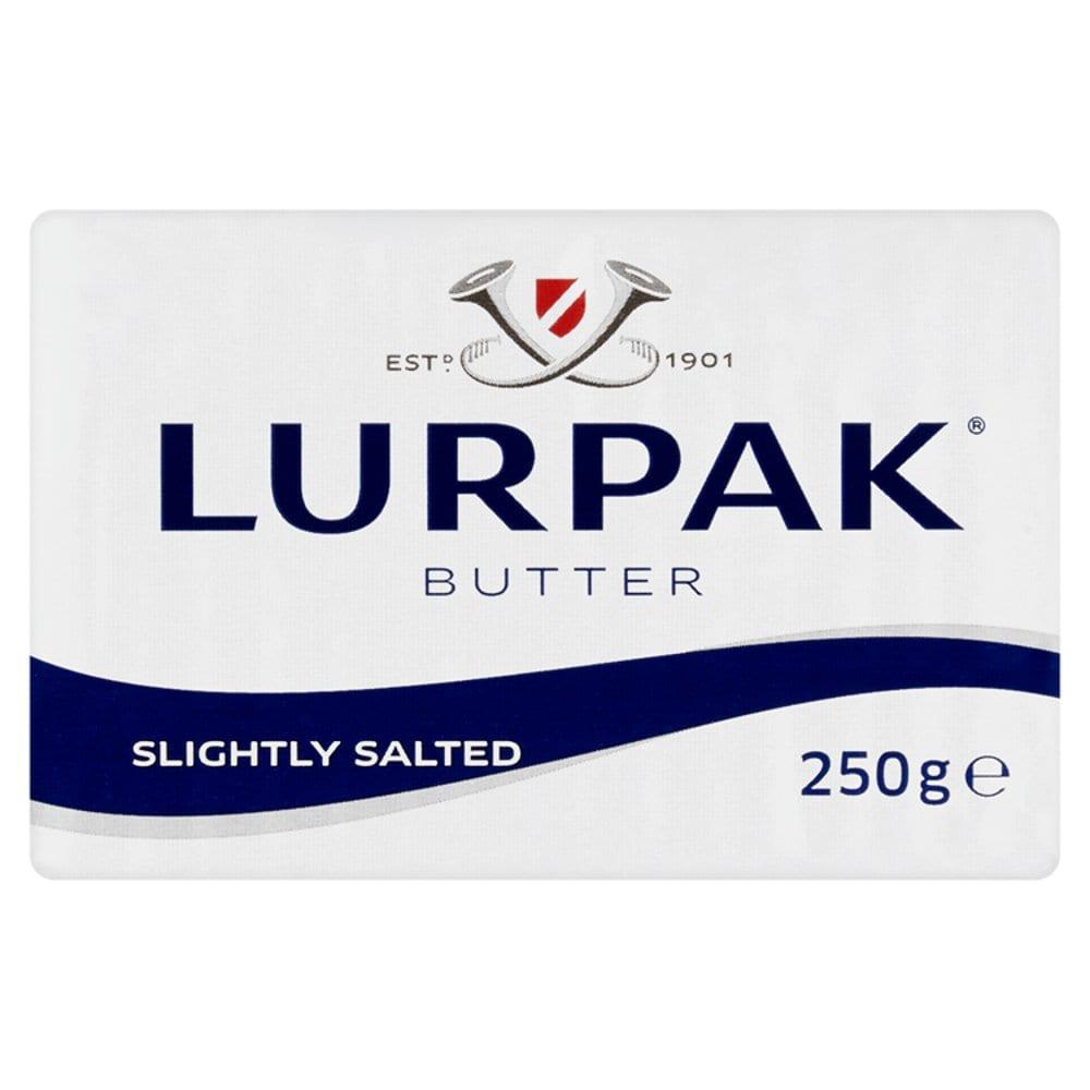 Lurpak Butter Slightly Salted 250g