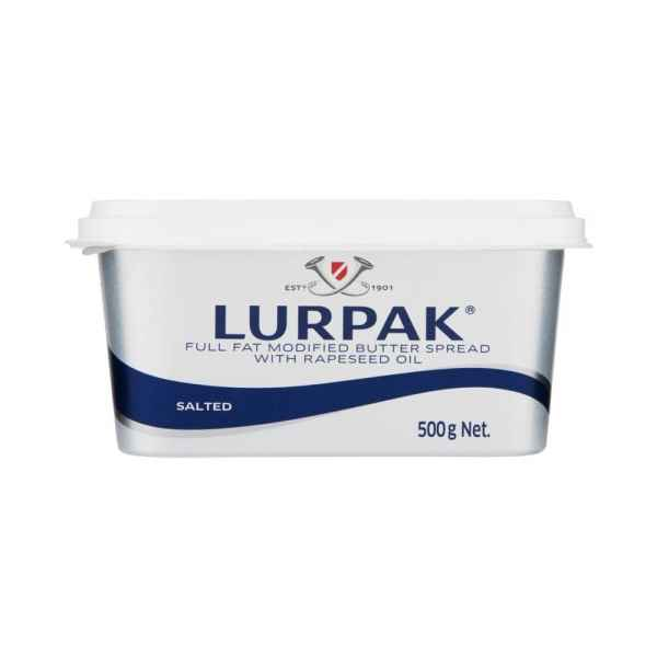 Lurpak Spreadable Slightly Salted 500g