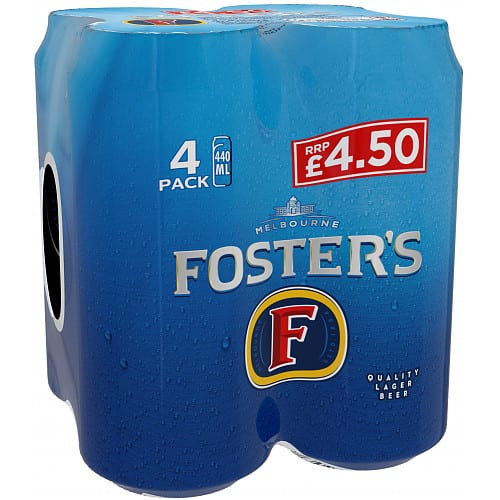 Foster's 4 x 440ml