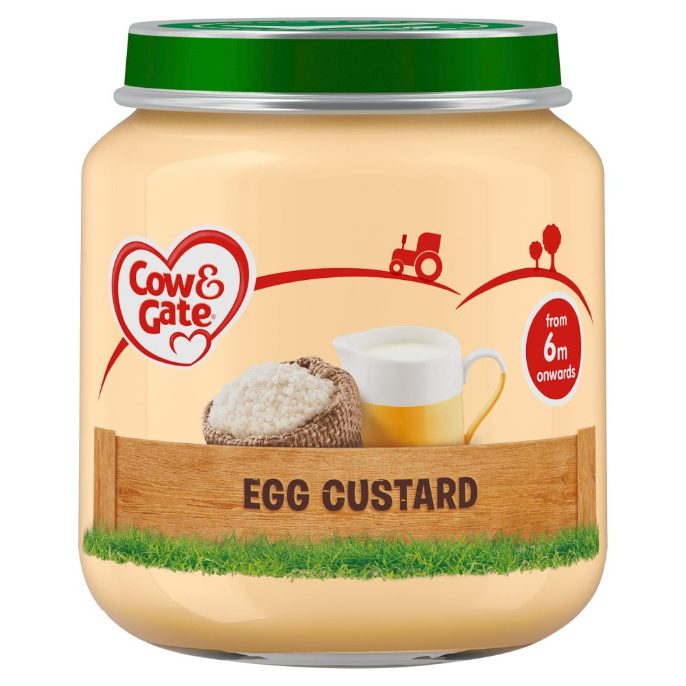 Cow & Gate Egg Custard Jar 125g