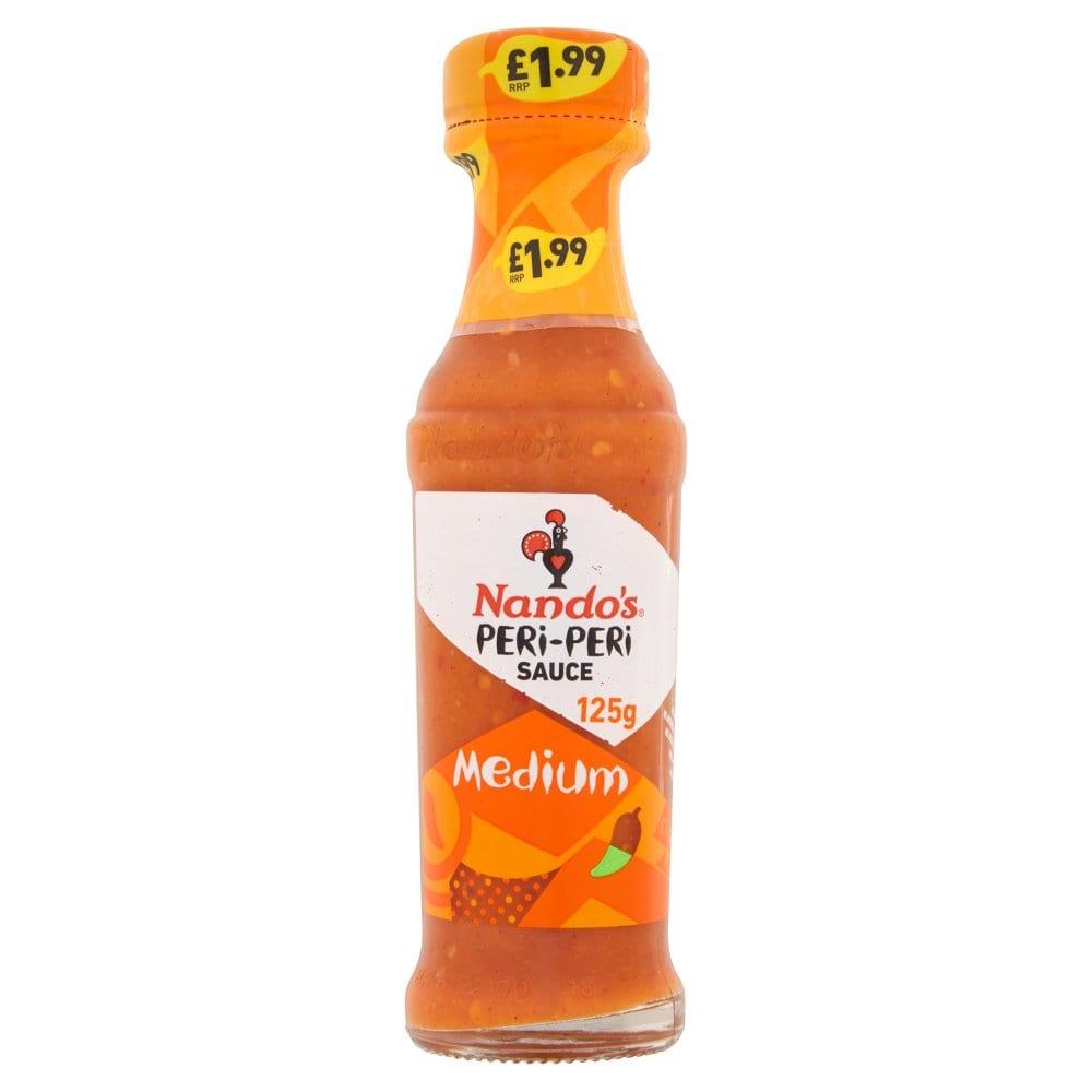 Nando's PERi-PERi Sauce Medium 125g PM