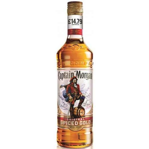 Captain Morgan Original Spiced Gold 70cl PMP