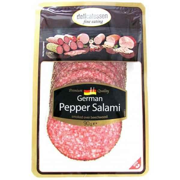 Delicatessen Sliced Pepper Salami