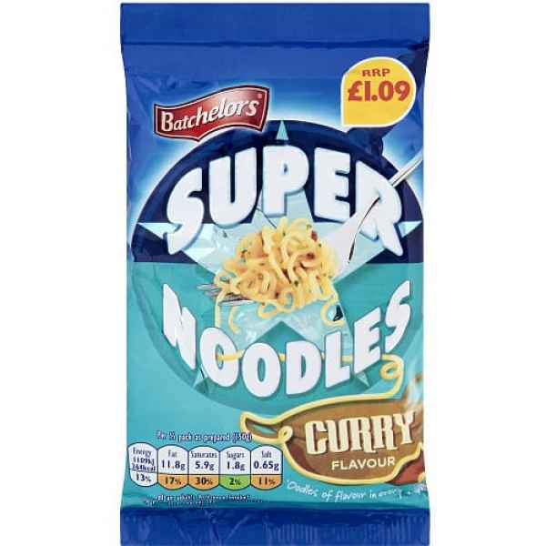 Batchelors Super Noodle Curry PM