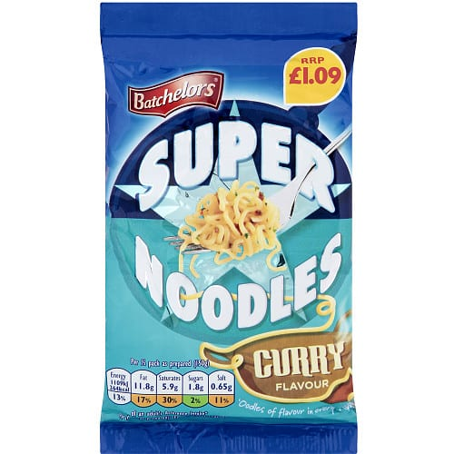 Batchelors Super Noodle Curry PM