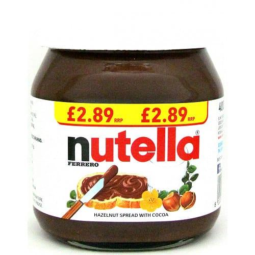 Nutella Spread PM
