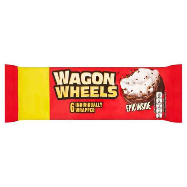 Wagon Wheels 6 Individually Wrapped