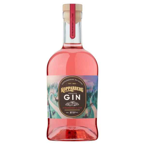 Kopparberg Premium Gin Strawberry & Lime 70cl