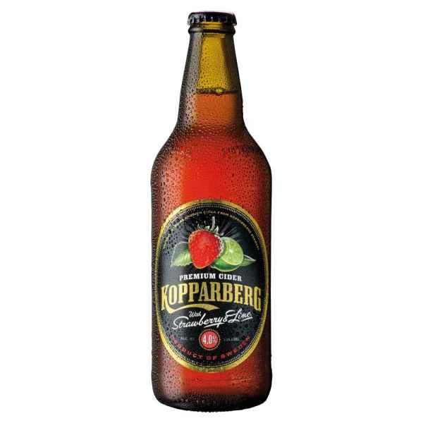 Kopparberg Premium Cider with Strawberry & Lime 500ml