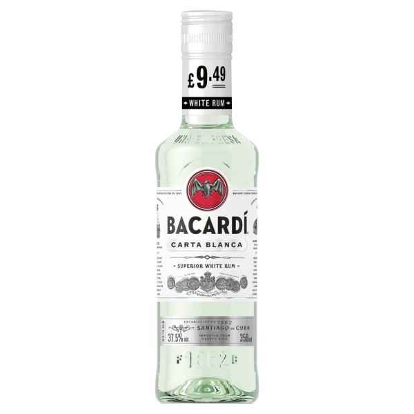 Bacardi Carta Blanca 350ml PMP