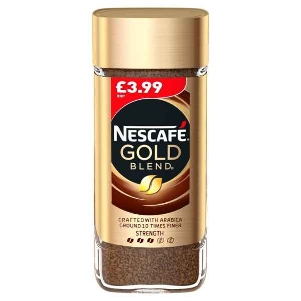 NESCAF GOLD BLEND Instant Coffee 100g PMP