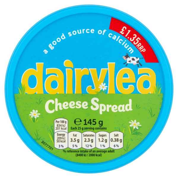 Dairylea Cheese Spread 145g PM
