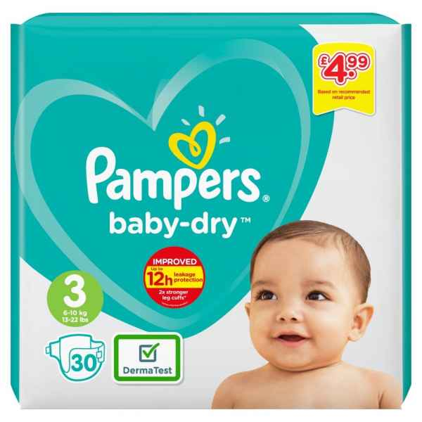 Pampers Baby-Dry Size 3