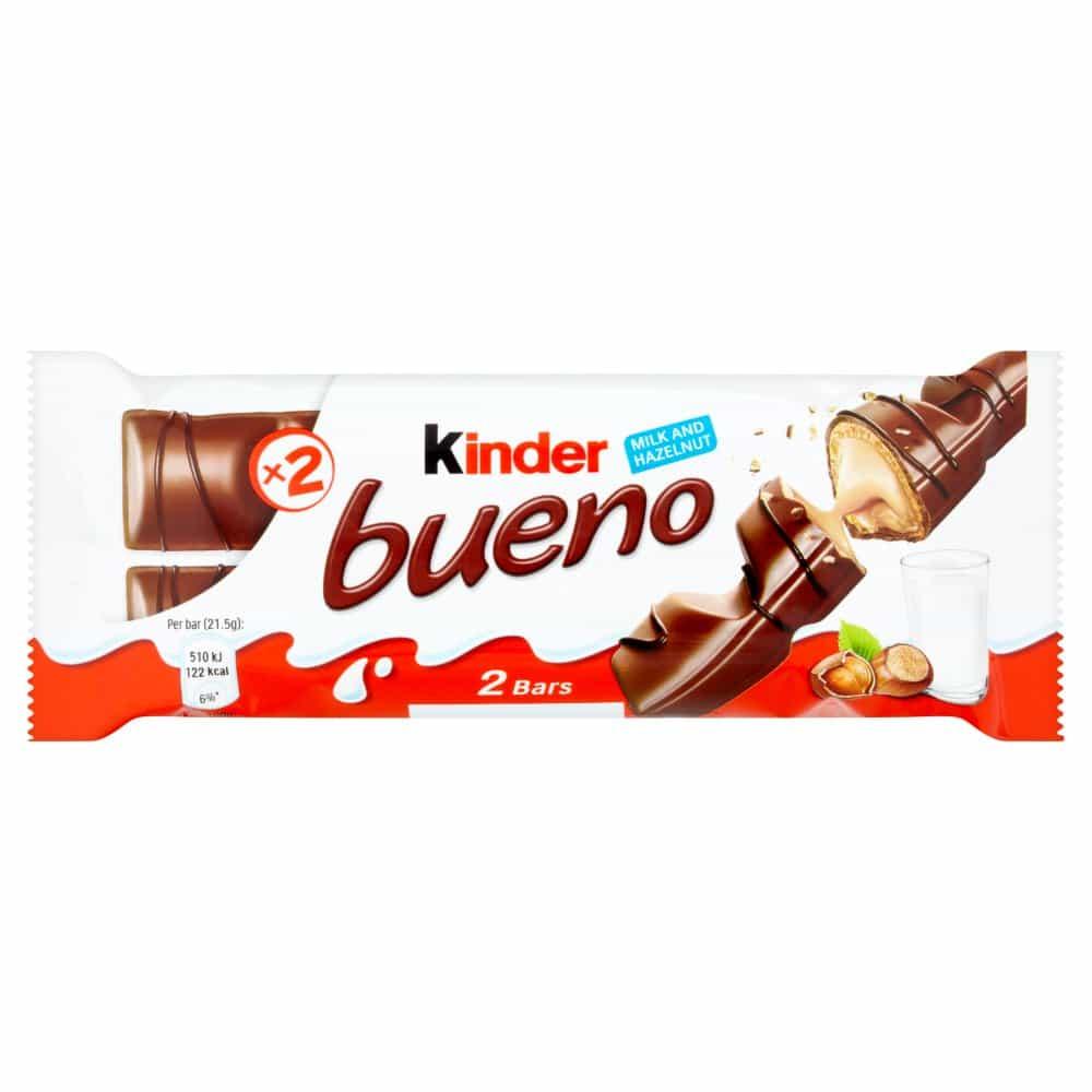 Kinder Bueno Milk and Hazelnuts 43g