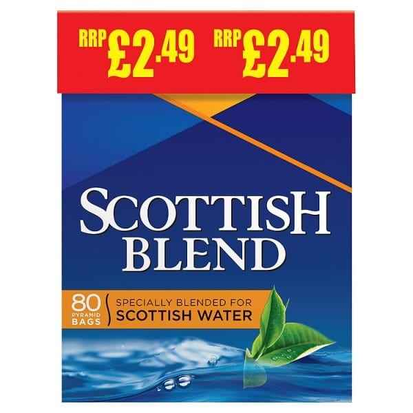 Scottish Blend Teabags 80 Bags