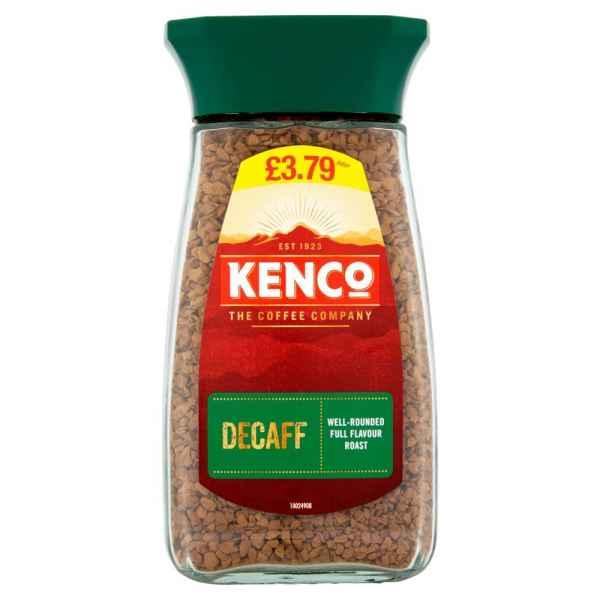 Kenco Decaf Instant Coffee 100g PMP