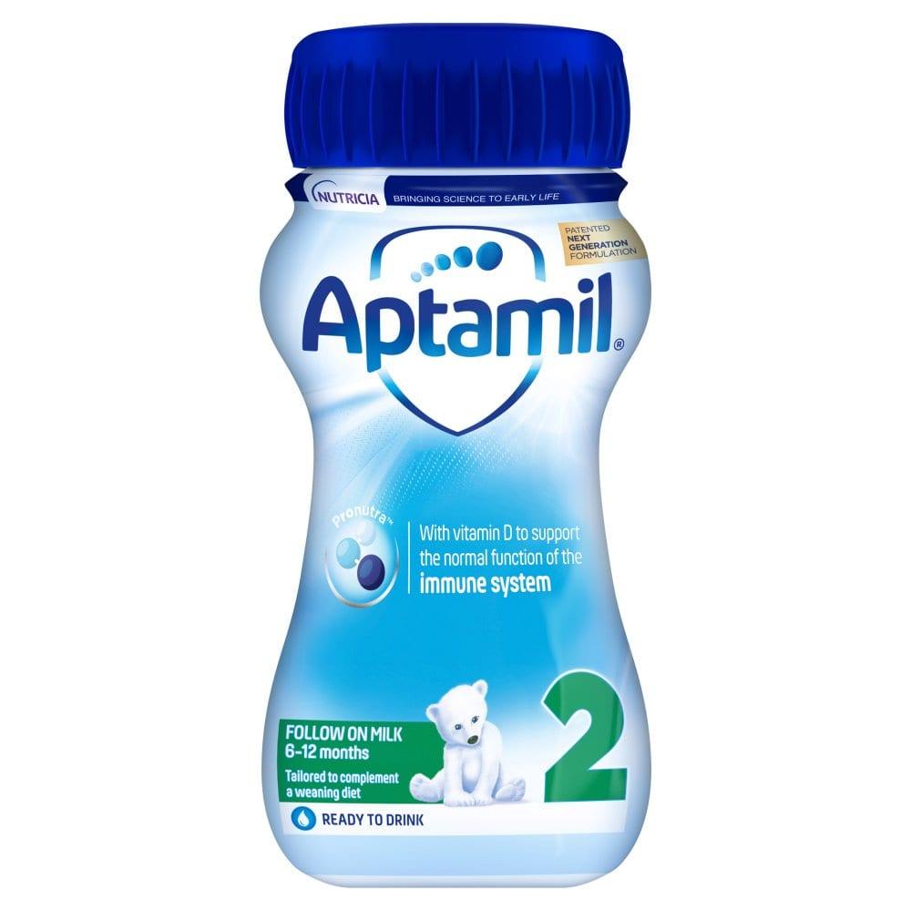 Aptamil 2 Follow On Baby Milk Formula 200ml