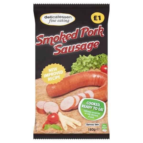 Delicatessen Smoked Pork Sausage 180g