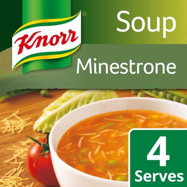 Knorr Minestrone Dry Packet Soup 62g