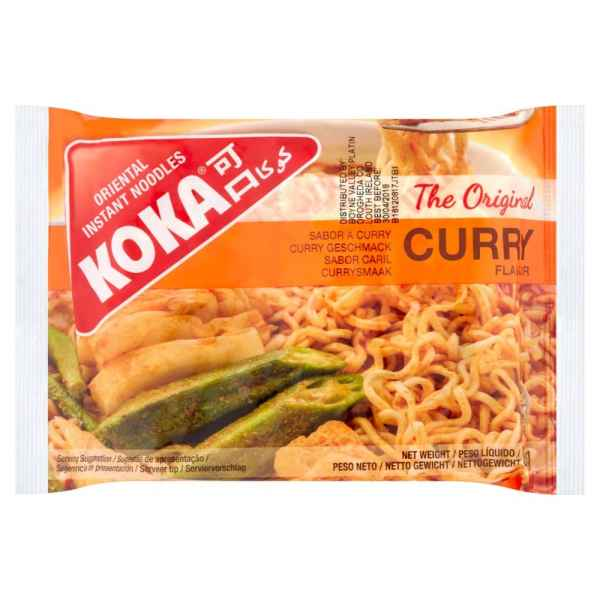 Koka Curry Flavour Oriental Instant Noodles 85g