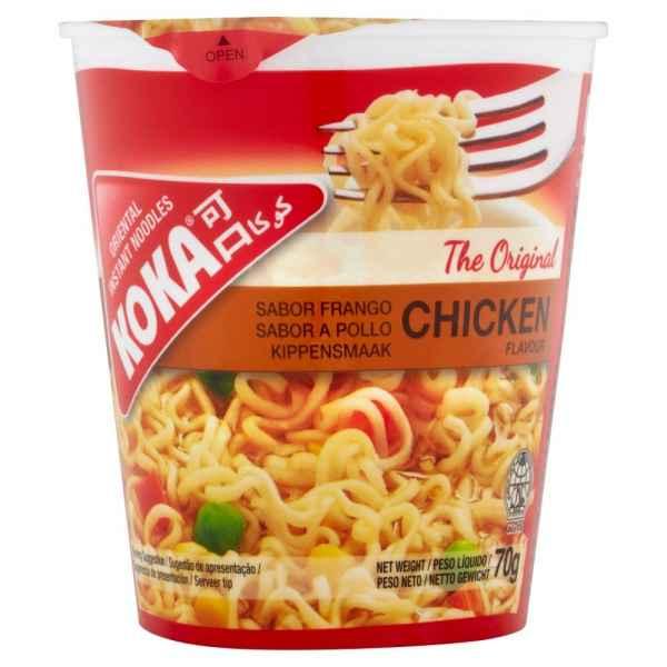 Koka The Original Chicken Flavour Oriental Instant Noodles 70g