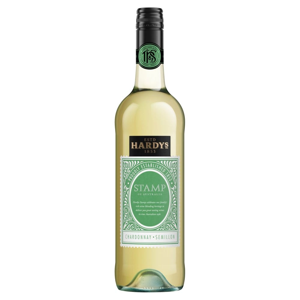 Hardys Stamp Chardonnay Semillon 75cl