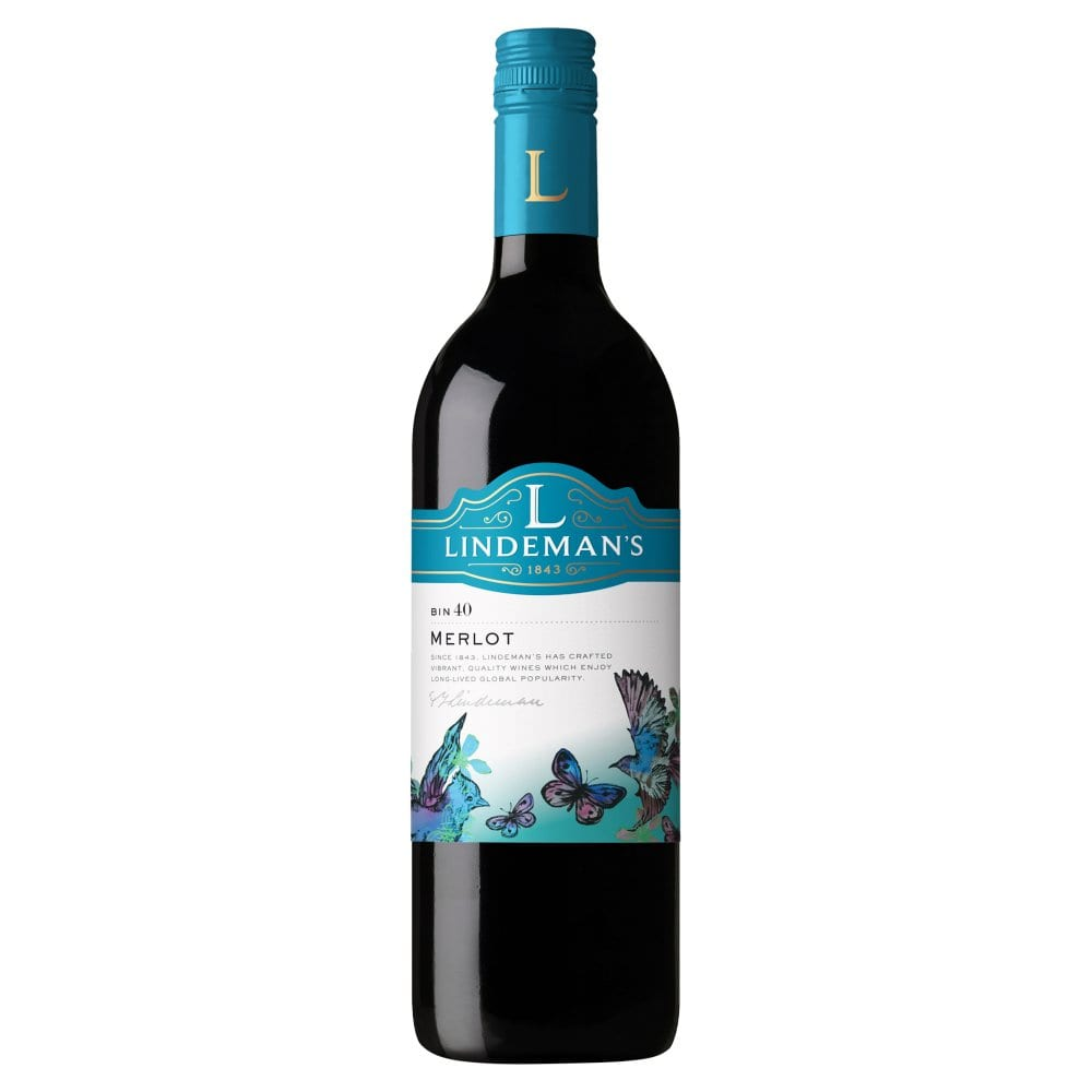 Lindeman's Bin 40 Merlot 750ml (Screwcap)