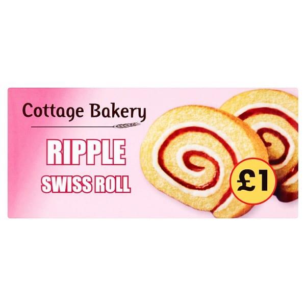 Cottage Bakery Ripple Swiss Roll