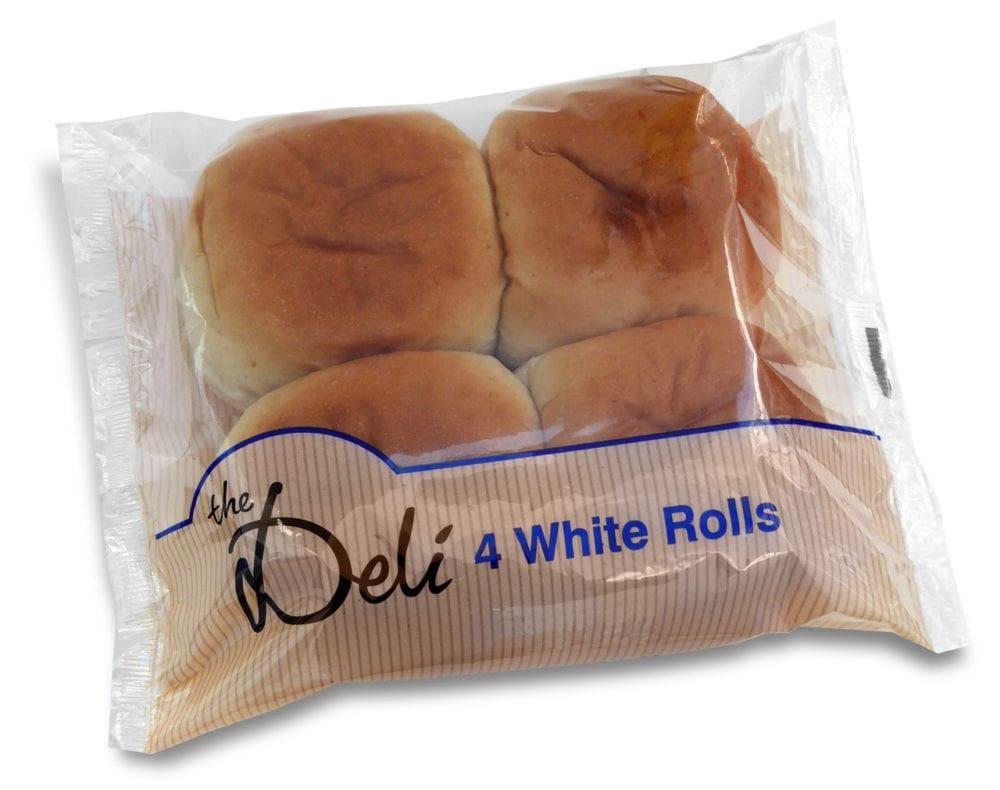 The Deli White Rolls 4 Pack
